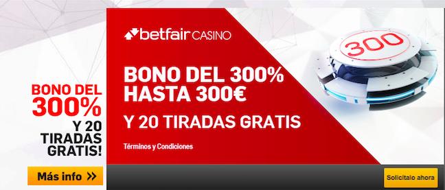 Casino mobile betfair con tiradas gratis en Dominicana - 70847