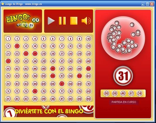 Juego de azar gratis juegos Bingo com - 81100