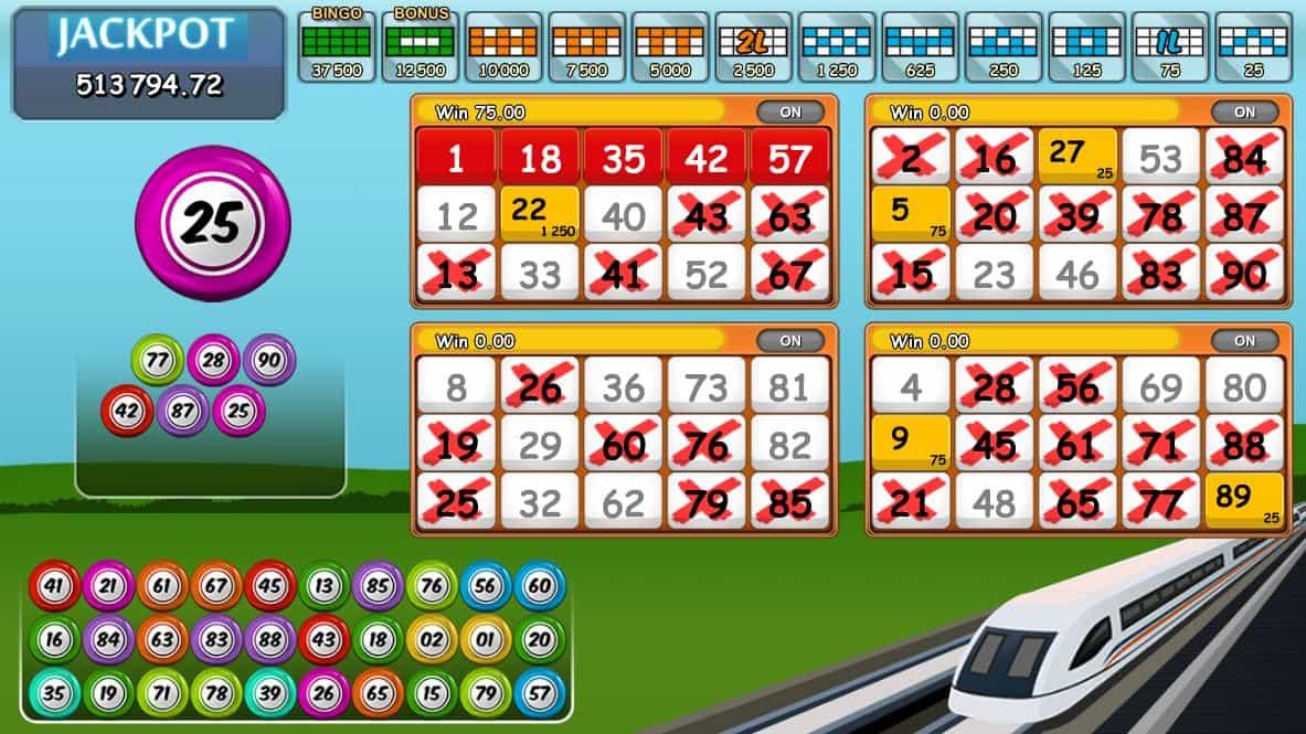Juegos de bingo - 19890