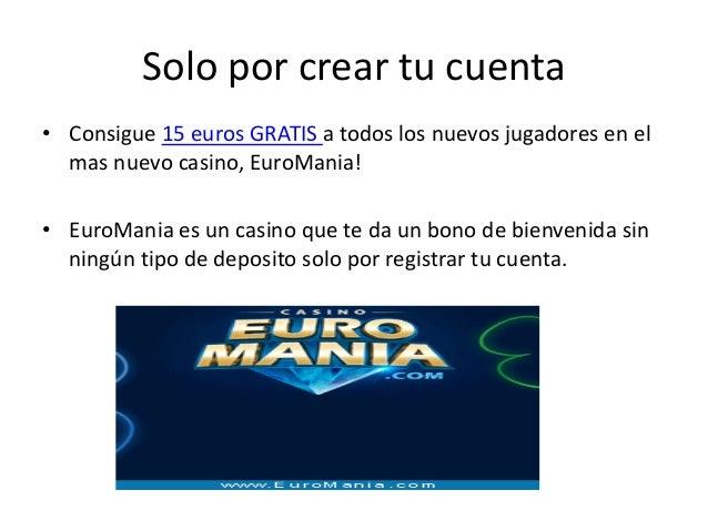Jugar casino gratis sin deposito bono México - 93289