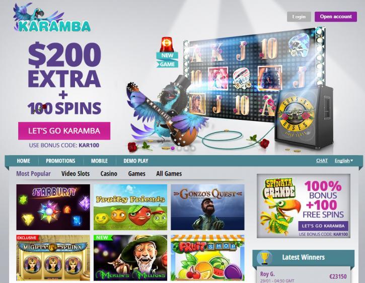 NeoGames Karamba com - 84945