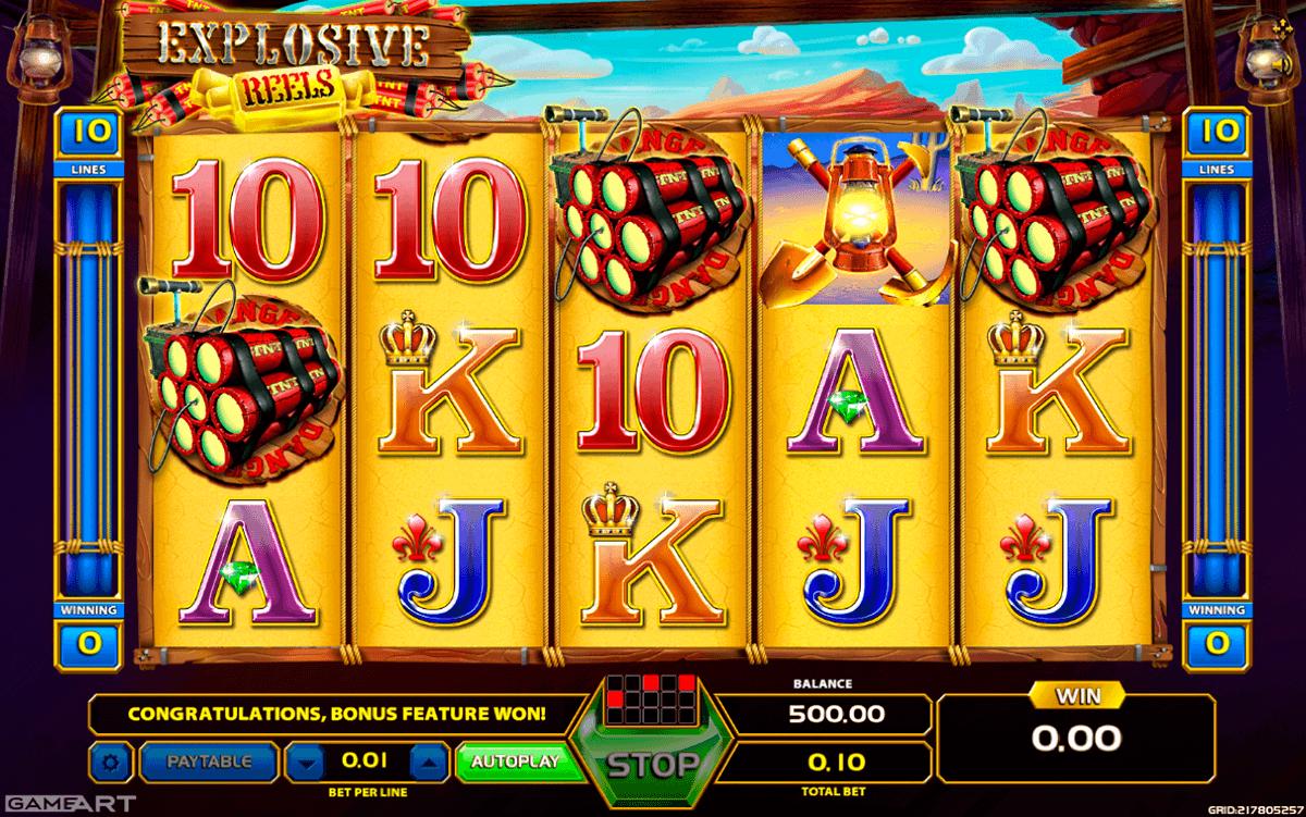 Online GameArt casino internet gratis - 87214