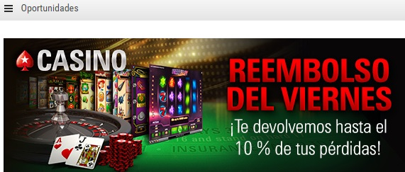 Pokerstars sign up reembolso semanal en casino - 18991