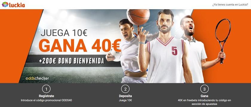 Promociones para jugadores latinos luckia apuestas entrar - 39593