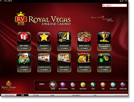 Royal vegas flash - 54837