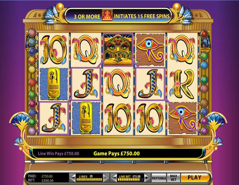 Slot gratis cleopatra - 90585