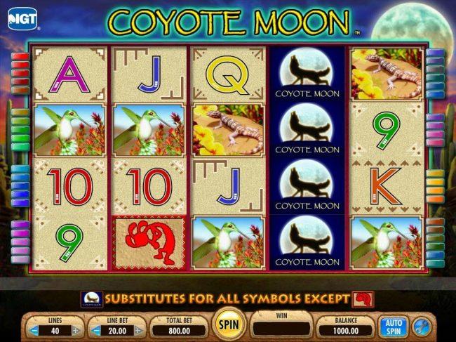 Tragamonedas Gratis Coyote Moon maquinas aristocrat juegos - 5433