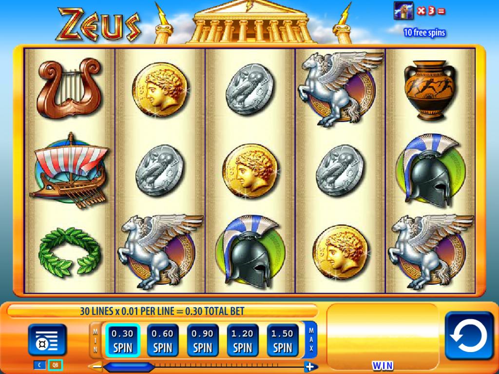 Tragamonedas zeus 3 - 28861