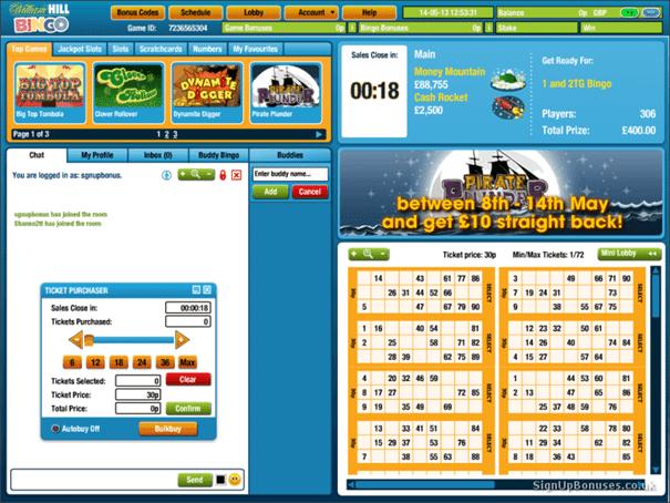 Tragaperras Bingo hill williams casino - 74193