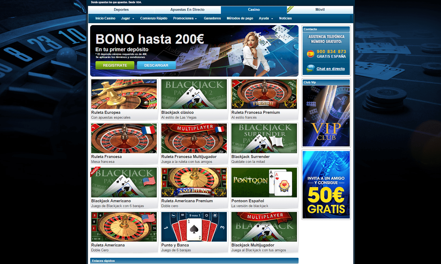 William hill app casino online legales en Coimbra - 50100